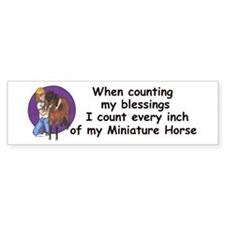 Bay blessings Bumper Bumper Sticker