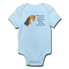 Buckskin MH God Showoff Infant Bodysuit