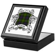 Gunn Tartan Shield Keepsake Box