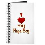 I heart my Hapa Boy Journal