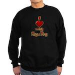 I heart my Hapa Boy Sweatshirt (dark)