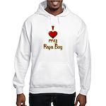 I heart my Hapa Boy Hooded Sweatshirt