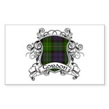 Gordon Tartan Shield Decal