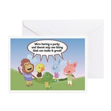 Jabloo Crew Birthday Invitation Cards (20 pack)