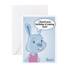 Burr Birthday Card