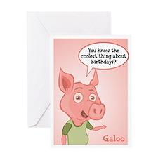 Galoo Birthday Card