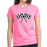 checker flag autorace Tee