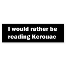 Jack Kerouac Bumper Bumper Sticker