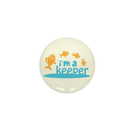 I'm a Keeper Mini Button (10 pack)