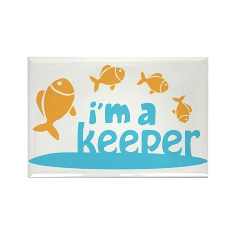 I'm a Keeper Rectangle Magnet (10 pack)