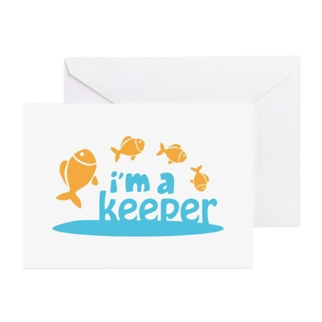 I'm a Keeper Greeting Cards (Pk of 20)
