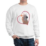 M Cockatoo Heart Line Sweatshirt