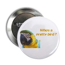 "BGM Pretty Bird 2.25"" Button (10 pack)"
