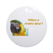 BGM Pretty Bird Ornament (Round)