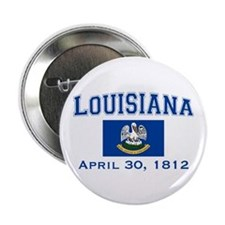 "Louisiana State Flag 2.25"" Button"