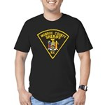 Monroe County Sheriff Men's Fitted T-Shirt (dark)