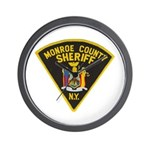 Monroe County Sheriff Wall Clock