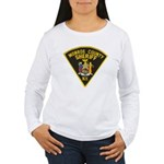 Monroe County Sheriff Women's Long Sleeve T-Shirt