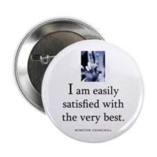 "Easily satisfied 2.25"" Button (10 pack)"