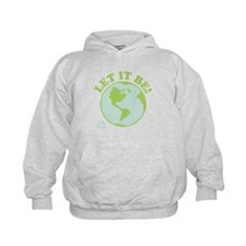 Let It Be Green Recycle Hoodie