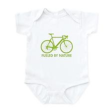 Bike Bicycle Green Infant Bodysuit