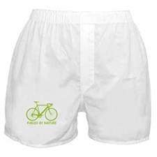 Bike Bicycle Green Boxer Shorts