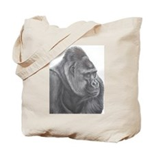 Western Lowland Gorilla 'Kumba' Tote Bag