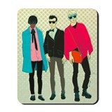 Unique Hipster fashion Mousepad