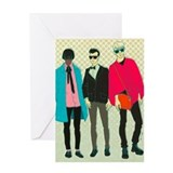 Cool Hipster fashion Greeting Card