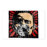 Gas Mask Banksy Style Postcards (Package of 8)