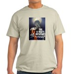 Jobs Not Rights Ash Grey T-Shirt