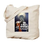 Jobs Not Rights Tote Bag