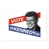 Retro Kennedy 1960 Postcards (Package of 8)