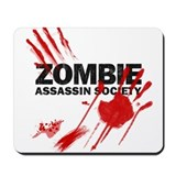 Resident Zombie Assassin Mousepad