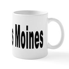 I Love Des Moines Iowa Mug
