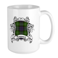 Forbes Tartan Shield Coffee Mug