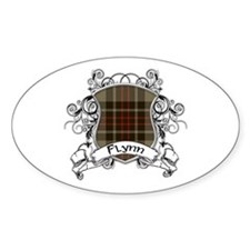 Flynn Tartan Shield Decal