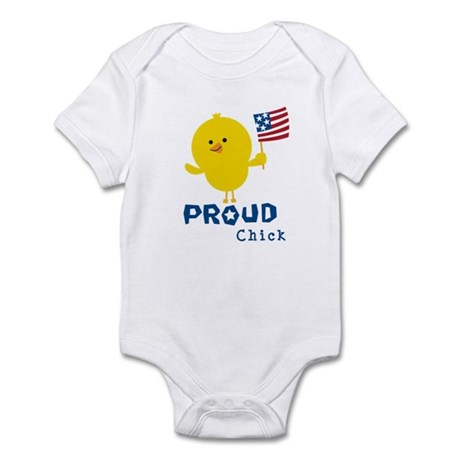 Proud Chick Infant Bodysuit