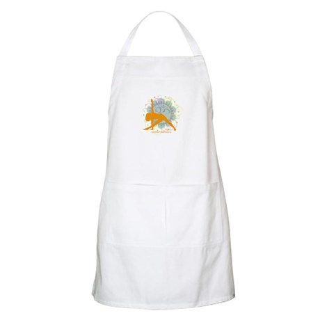 Get it Om. Extended Triangle, BBQ Apron