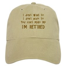 You Cant Make Me! Baseball Cap