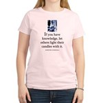 Light candles Women's Light T-Shirt