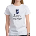 Light candles Women's T-Shirt