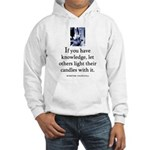 Light candles Hooded Sweatshirt