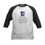 Light candles Kids Baseball Jersey