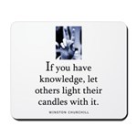 Light candles Mousepad