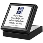 Light candles Keepsake Box