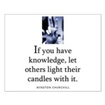 Light candles Small Poster