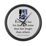 Everyone Large Wall Clock