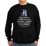 An optimist Sweatshirt (dark)