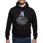 An optimist Hoodie (dark)